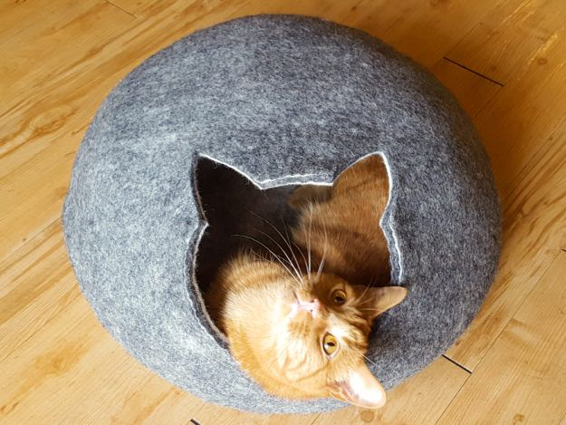 Meowfia Felted Cat Cave Product Review