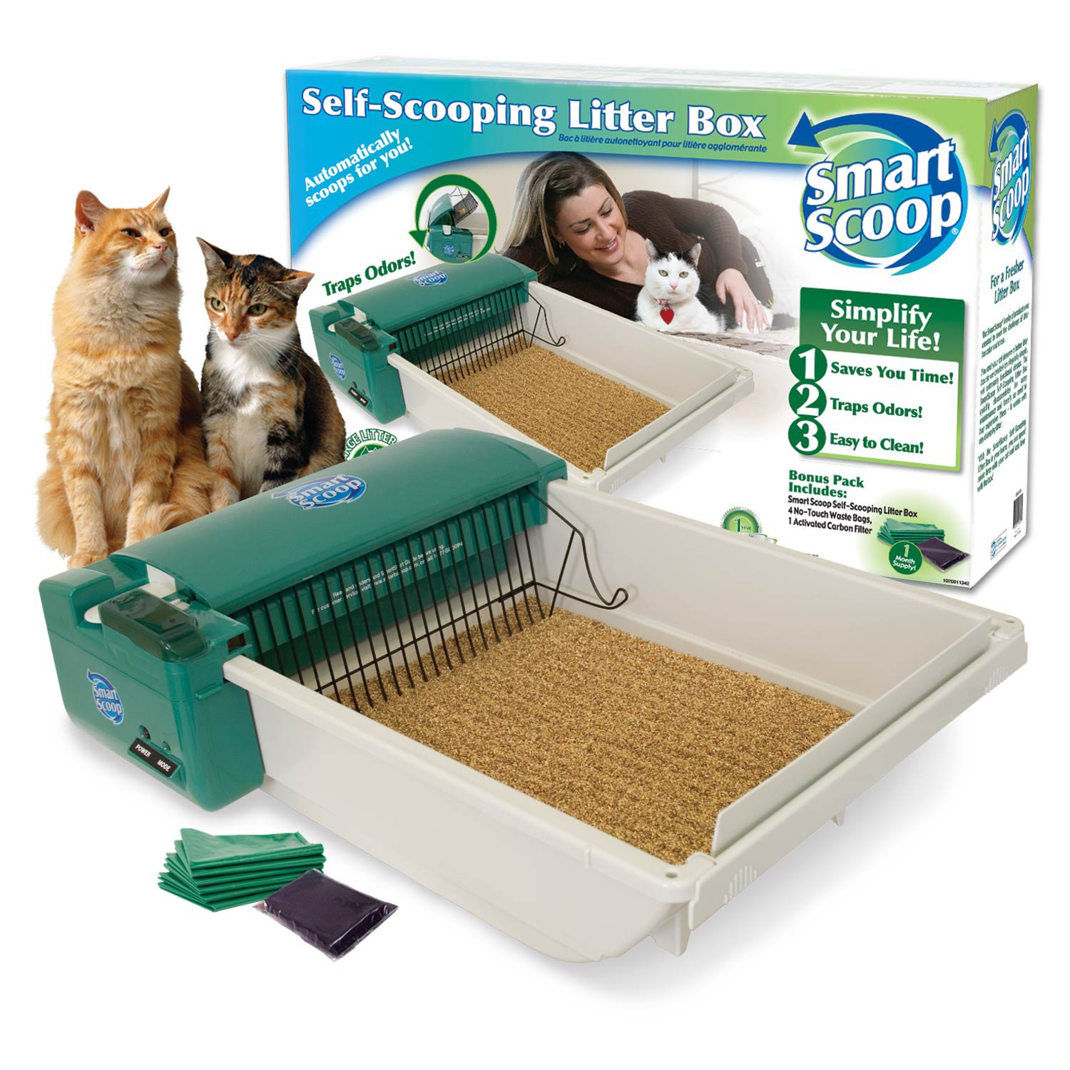 SmartScoop Automatic Litter Box Review