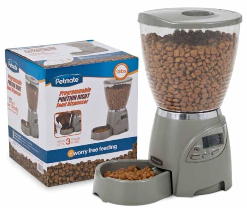 Petmate Portion Right Programmable Food Dispenser Review